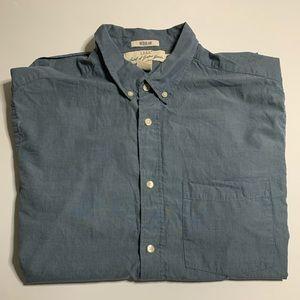 10/10 H&M short sleeve button up- regular fit